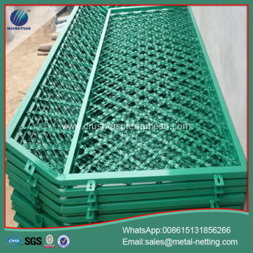 pvc coated razor welded fence razor mesh fence